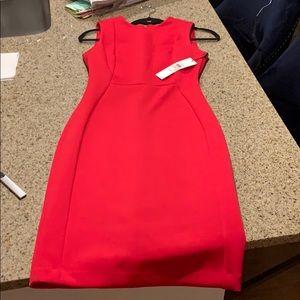 SOLID SCUBA SHEATH DRESS size 2